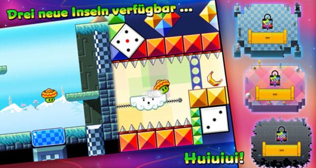 "Plattformer ""Bean Dreams"" erhält 18 neue Level"