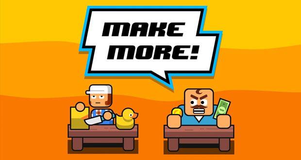 """""""Make More!"""" ist ein neues Clicker-Game für iOS"""