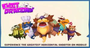 Shoot the Dragons: kunterbunter und actionreicher Arcade-Shooter als Gratis-Download
