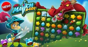 Sir Match-a-Lot: ritterliches Abenteuer als Match-3-Puzzle