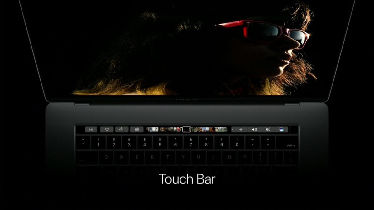 MacBook Pro mit Touch Bar und Touch ID