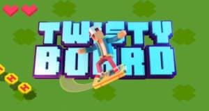 Twisty Board: ein wilder Ritt auf einem Gameboy