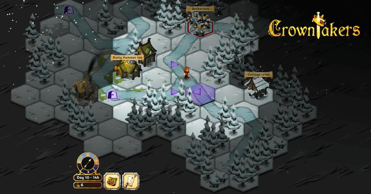 Crowntakers iOS Spiel