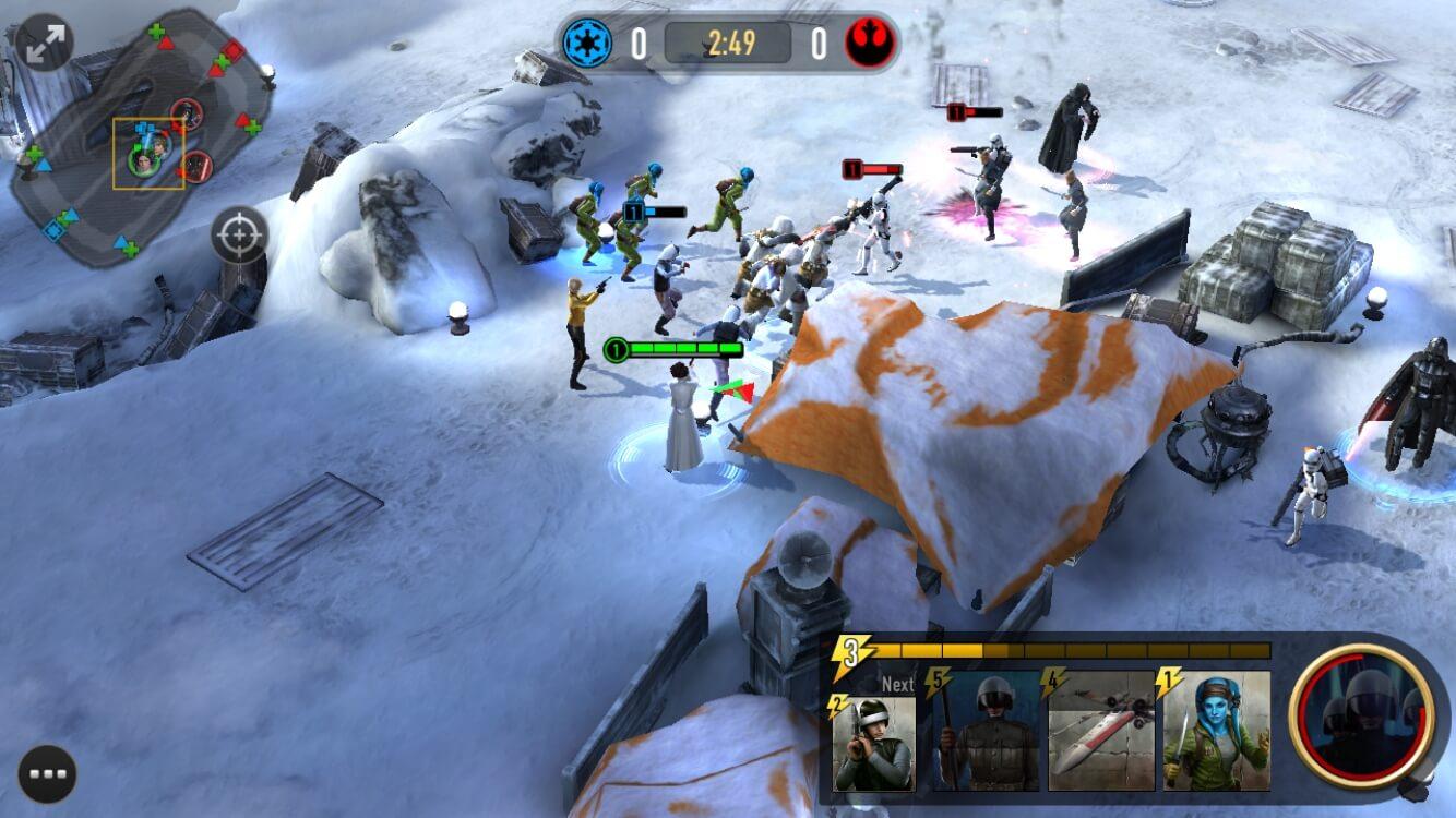 Star Wars: Force Arena iOS Spiel