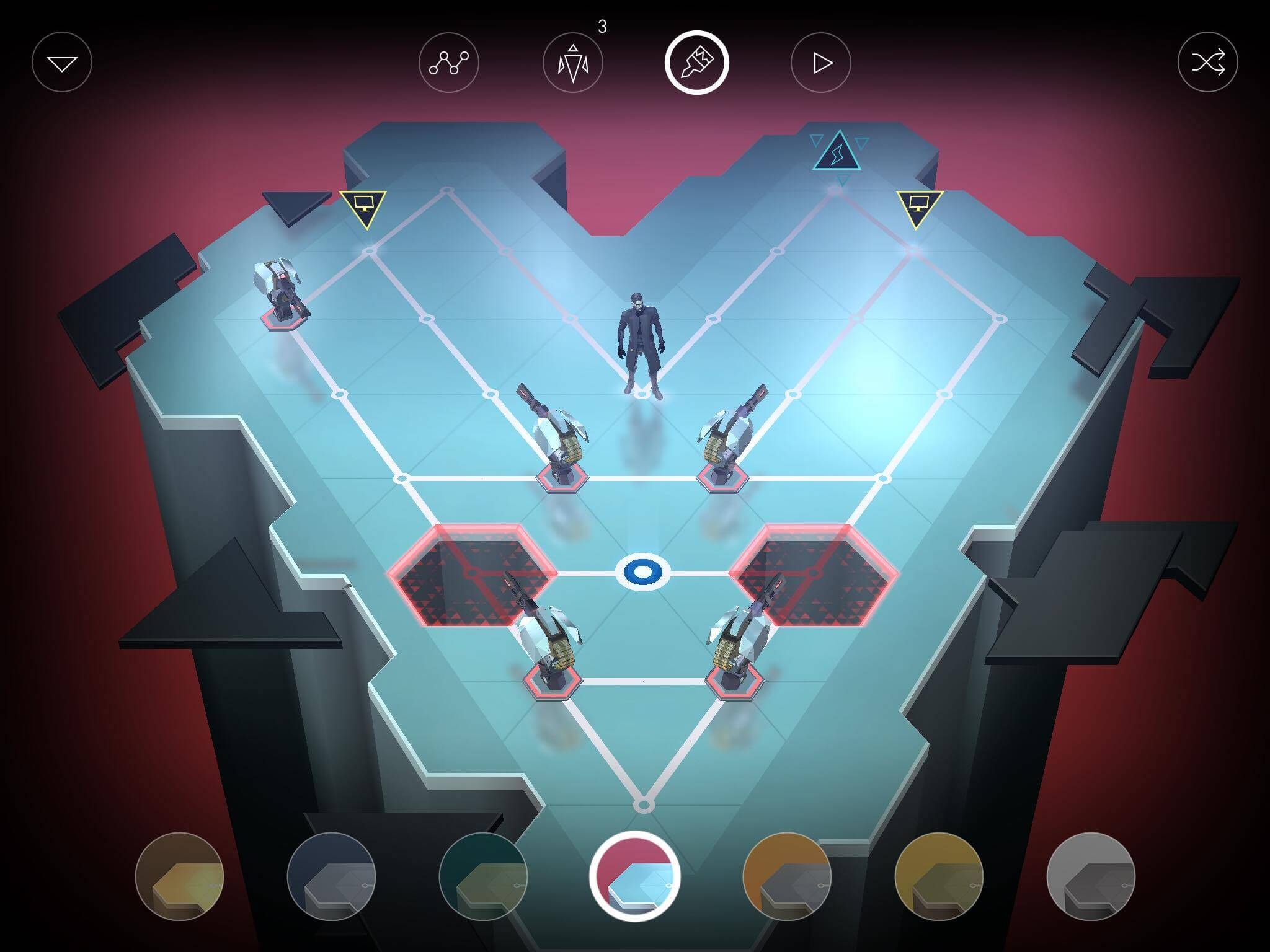 Deus Ex GO iOS