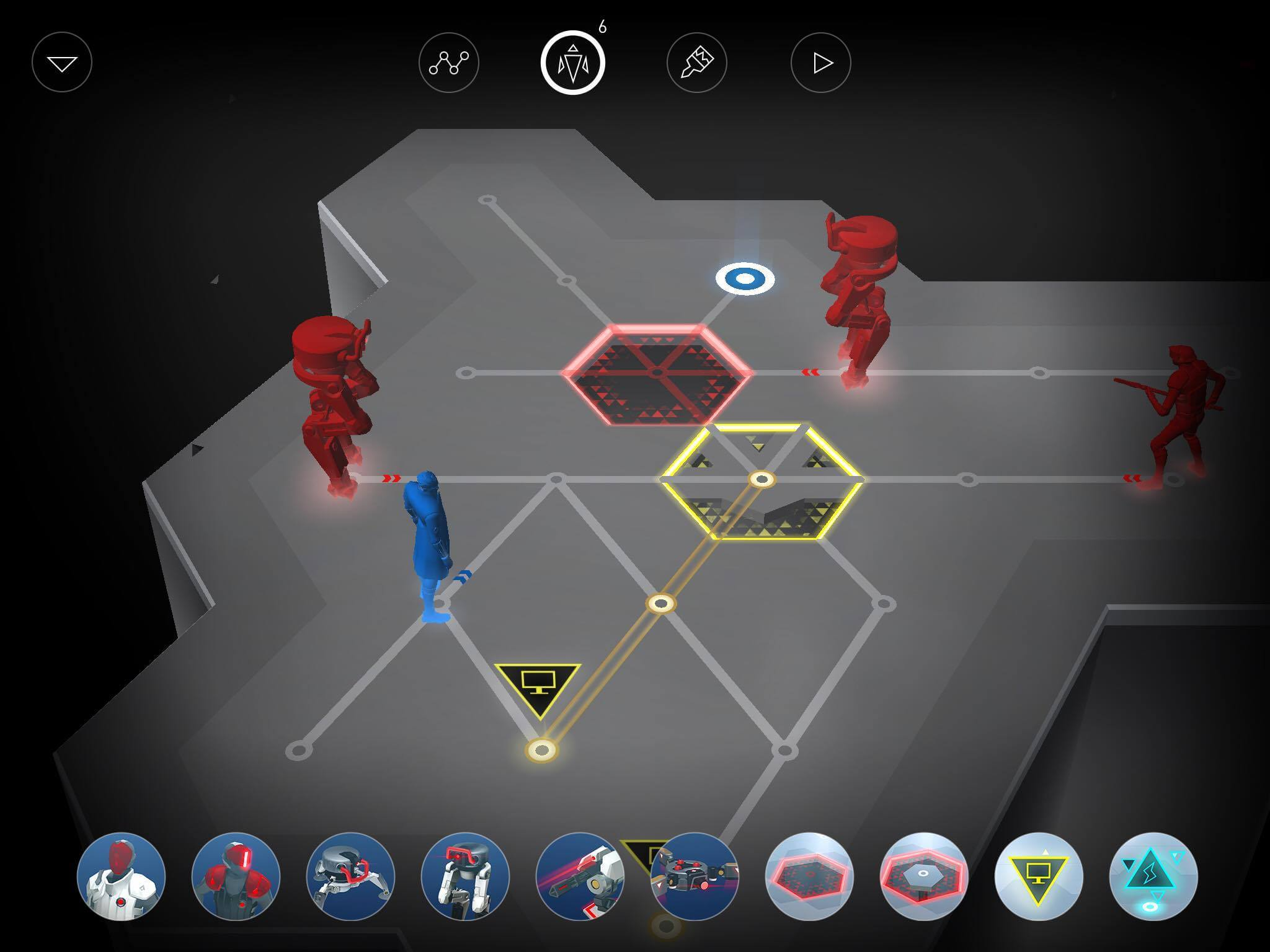Deus Ex GO iPhone iPad