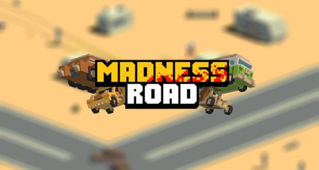 """Zombies über den Haufen fahren in post-apokalyptischem Endless-Racer """"Madness Road"""""""