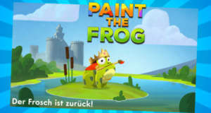 """Neues Highscore-Game """"Paint the Frog"""": Frösche einfärben gegen die Zeit"""