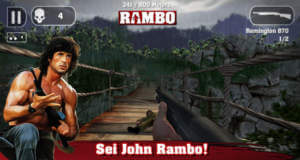 "Action-Game ""Rambo – Das Mobile-Game"" günstig wie nie"