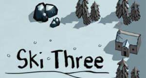 """Ski Three"" neu für iOS: Match-3-Puzzle als endlose Abfahrt"