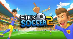 Stick Soccer 2: mittelmäßiges Flick-Fußballspiel als Gratis-Download