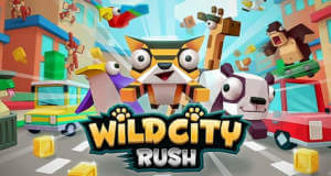 "Wild City Rush: levelbasiertes Zootier-Gehopse im Stil von ""Crossy Road"""