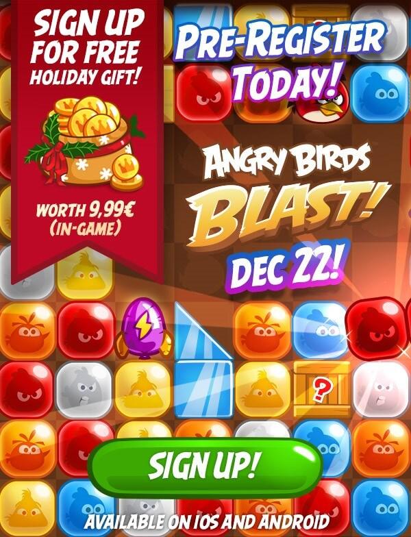 Angry Birds Blast! iOS