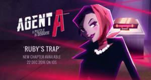 """Agent A: Kapitel 3 """"Rubys Falle"""" erschienen & App auf 99 Cent reduziert"""