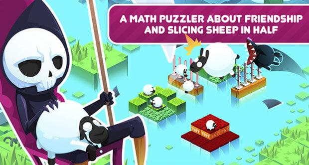 """Mathe-Puzzle """"Divide By Sheep"""" mal wieder für nur 99 Cent laden"""