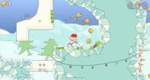 """Gewöhnungsbedürftiger Plattformer """"Eggggg – The Platform Puker"""" erhält Weihnachts-Update"""