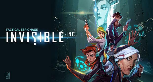 """Tolles Stealth-Strategiespiel """"Invisible, Inc."""" günstig wie nie"""