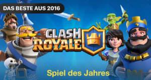 "iPhone Spiele des Jahres 2016: ""Clash Royale"", ""Reigns"" und ""Pokémon Go"""