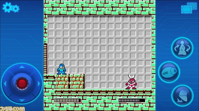 Mega Man iOS Spiel