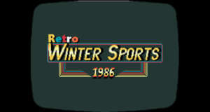 Retro Winter Sports 1986: Hommage an klassische Sportspiele der 80er neu für iOS