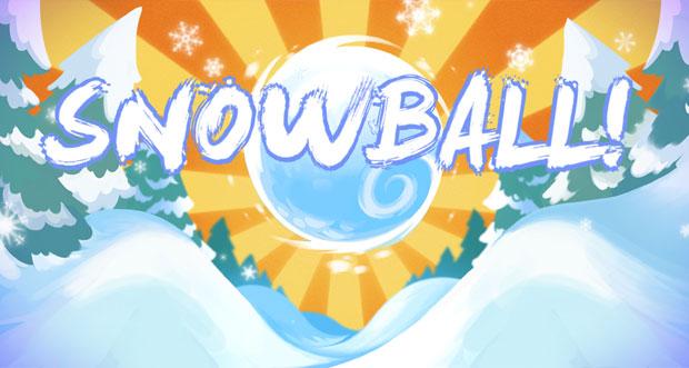 """""""Snowball!!"""" ist ein winterliches Pinball-Spiel neu im AppStore"""