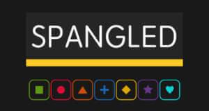"""Kostenloses """"Spangled"""" mischt Match-3-Puzzle mit Tetris"""