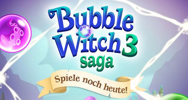 """""""Bubble Witch 3 Saga"""" von King neu im AppStore"""