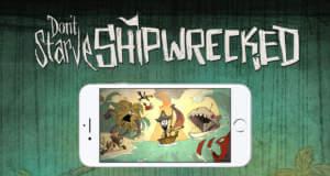 """Survival-Adventure """"Don't Starve: Shipwrecked"""" neu für iOS: schiffbrüchiger Wilson kämpft wieder ums Überleben"""