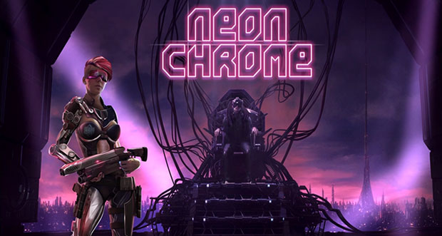 """5-Sterne-Shooter """"Neon Chrome"""" günstig wie nie laden"""