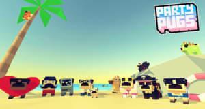 """""""Party Pugs: Beach Puzzle GO!"""" ist ein kostenloses Puzzle mit Möpsen am Strand"""