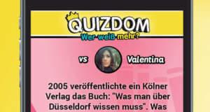 """Quiz-App """"Quizdom – Wer weiß mehr?"""" stürmt die AppStore-Charts"""