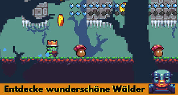 "Retro-Plattformer ""Return of the Zombie King"" erstmals reduziert"