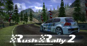 Rush Rally 2: eines der besten iOS-Rennspiele erstmals reduziert
