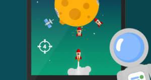 """""""Space Settlers: Spinning wheel"""" ist ein forderndes Geschicklichkeitsspiel als Gratis-Download"""