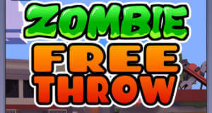 Zombie Free Throw: der Kopf muss durch den Ring