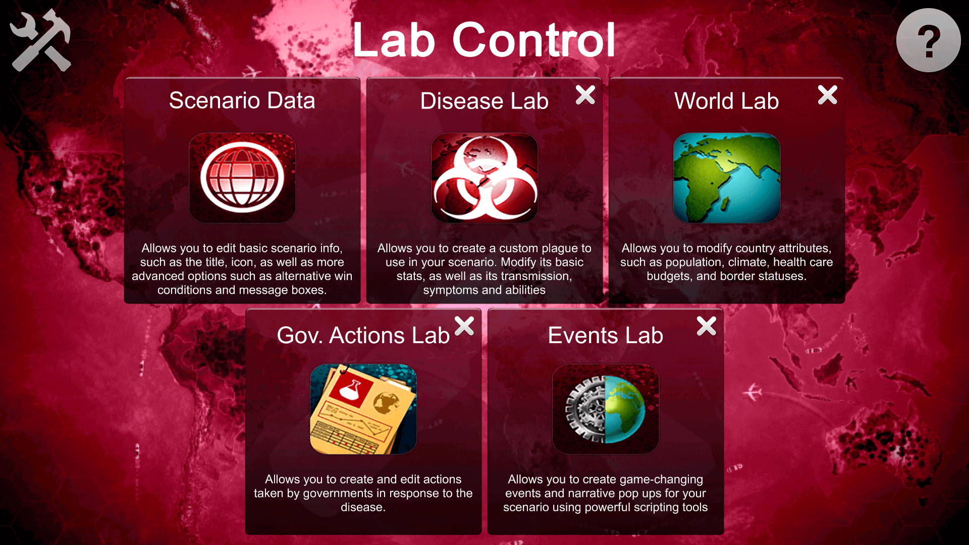 Plague Inc. Scenario Creator iOS