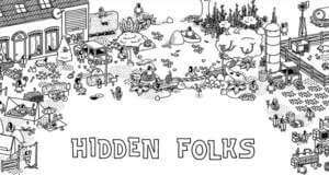 Hidden Folks: neues Puzzle lässt euch die Nadel im Heuhaufen suchen