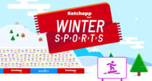Ketchapp Winter Sports: neue Wintersport-Highscorejagd von Ketchapp