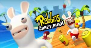 Rabbids Crazy Rush: die verrückten Hasen rennen in den AppStore