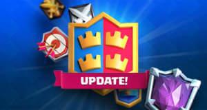 """Update für """"Clash Royale"""": neue Ligen, Clankämpfe, Karten und Arena"""