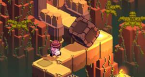"""Neuer Endless-Runner """"Cliff Hopper"""": auf der Flucht vor einem riesigen Felsbrocken"""