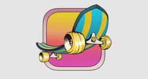 Fingerboard: endloses Skateboard-Game neu im AppStore
