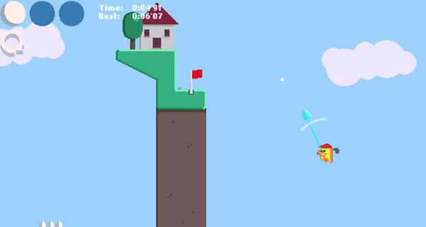 """""""Golf Zero"""" ist ein neues Golfspiel gemischt mit einem Plattformer"""