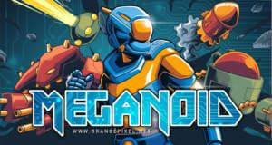 Meganoid(2017): hammerharter Roguelike-Plattformer von OrangePixel
