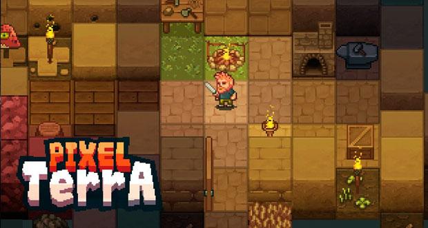 Pixelterra neues survival adventure mit ber 100 dingen for Leben mit 100 dingen