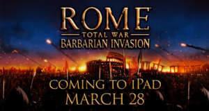 """""""ROME: Total War – Barbarian Invasion"""" für iPad: Releasetermin bekanntgegeben"""