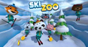 Ski Zoo: endlose Abfahrt mit tierischen Skifahrern