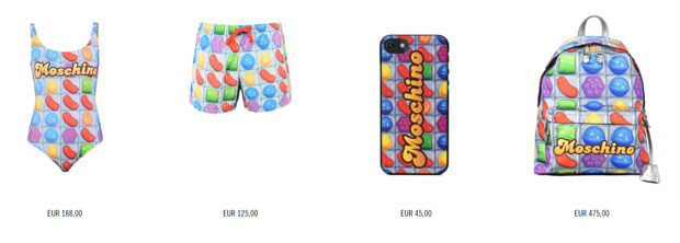 Candy Crush Moschino