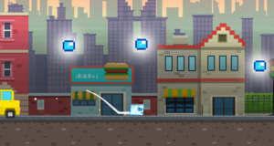 Arcade Ice: neuer Retro-Plattformer mit einem schmelzenden Eiswürfel