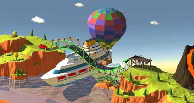"""""""Build a Bridge!"""" von BoomBox erinnert sehr stark an """"Bridge Constructor"""""""